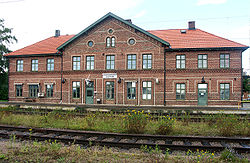 Klippan Train Station