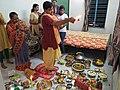 Kojagari Lakshmi Puja - Bengali Brahman Family - Howrah 20171005190117.jpg