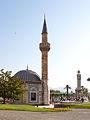 Konak meydanı - Konak Cami ve İzmir Saat Kulesi.jpg