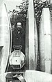 Konstantin Tsiolkovsky with his steel dirigibles in his garden.jpg