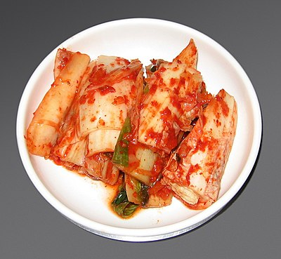 Makanan tradisional orang Korea, kimchi