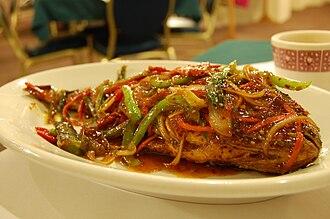 Jjim - Image: Korean cuisine Saengseon jjim 01