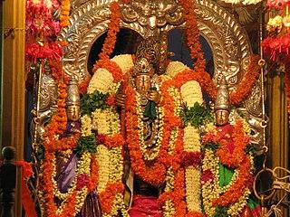 Narasapuram Town in Andhra Pradesh, India