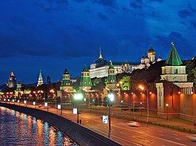 Kremlin riverside.