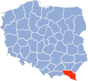 Krosno Voivodeship - Krosno Voivodeship