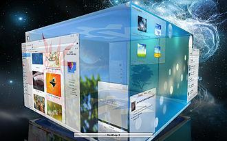 KWin - Image: Kwin cube