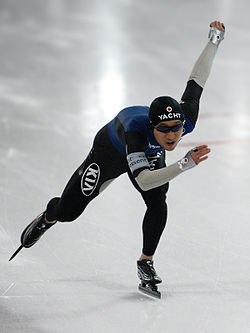 Lee Kyu-hyeok at the World Cup 2008 in Hamar