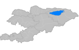 Raions de Kirgizio