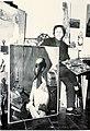 L'artiste peintre Marixa dans son atelier à Bayonne.jpg