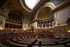 L'hémicycle du Sénat français en septembre 2009.jpg