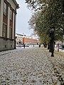 Läntinen Rantakatu lumisateen jälkeen.jpg