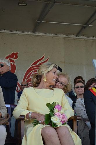 Princess Léa of Belgium - Léa of Belgium in Charleroi on June 13, 2015