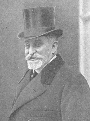 Léon Geoffray - Léon Geoffray in 1912