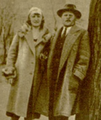 Lăzurică and wife in Kowno, 1936.png