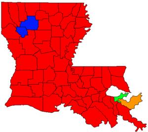 Louisiana gubernatorial election, 2007 - Image: LA Gov Election Oct 07