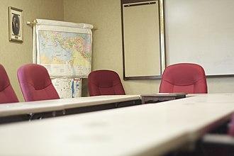 Louisville Bible College - Image: LBC Gray Room