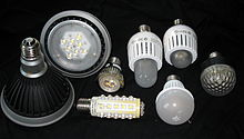 Led Lampen Direct : Led leuchtmittel u wikipedia