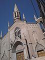 La única parroquia de estilo neo gótico de la provincia de Mendoza es la San Vicente Ferrer..jpg