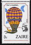 La Gustave, Timbre-poste du Zaïre, 1984.png