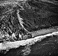 La Perouse Glacier, tidewater glacier terminus with lots of crevasses, September 16, 1966 (GLACIERS 5564).jpg