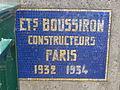 La Roche-Guyon (95), plaque à la tête du vieux pont de la Seine.JPG