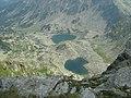 Lacurile Rosiile si Mandra de pe Parangul Mare - panoramio.jpg