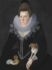 Lady Arabella Stuart, c 1577 - 1615. Only daughter of the 6th Earl of Lennox