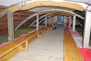 Matratzenlager - Matratzenlager at the Rifugio Vittorio Emanuele II