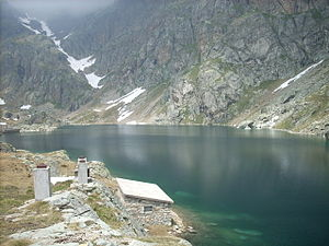 Campelli Lake - Image: Lago Campelli superiore
