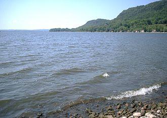 Lake Pepin - Lake Pepin from the Wisconsin side.