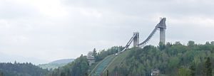 1980 Winter Olympics - The Ski Jumping Complex.