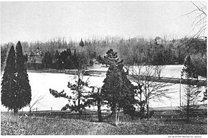 Lake Roland (Maryland) - Lake Roland in about 1898