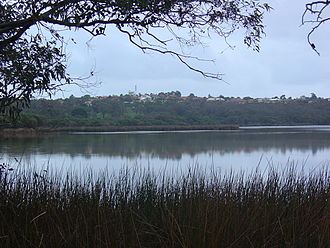 Lake Joondalup - A view looking westward over the lake