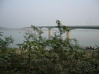 Lalon Shah Bridge - Image: Lalon Shah Bridge Bangladesh (2)