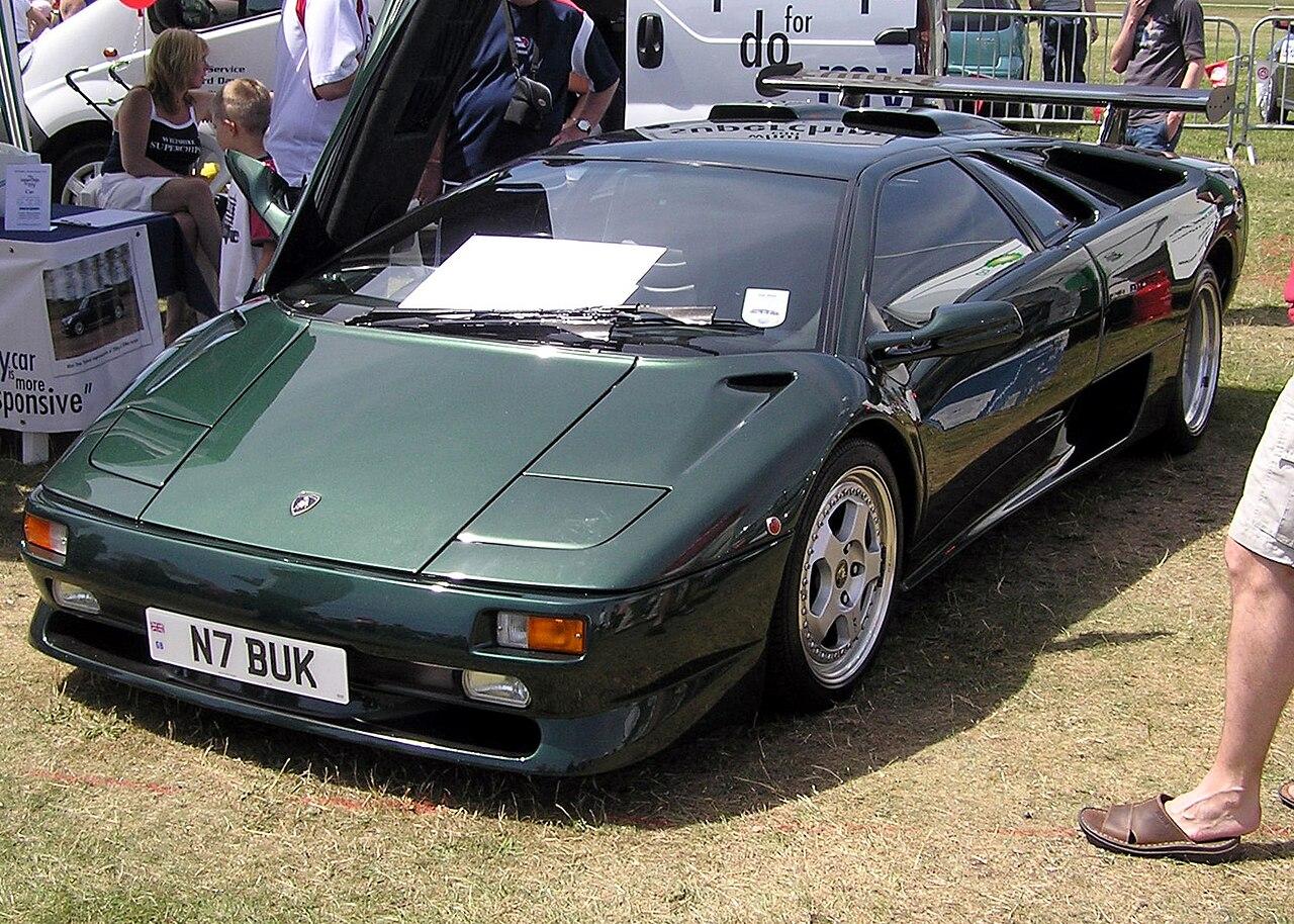 File Lamborghini Diablo Sv Green Arp Jpg Wikimedia Commons