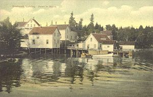 Southport, Maine - Southport Landing in 1910