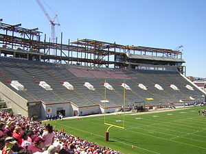 Lane Stadium - Lane Stadium during the 2005 Spring Game