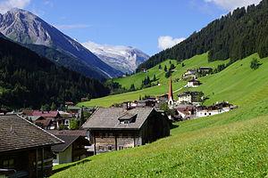 Tuxertal - Lanersbach in Tuxertal, Tyrol, Austria