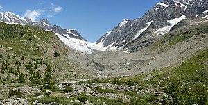Lang Glacier - Image: Langgletscher in Lötschental