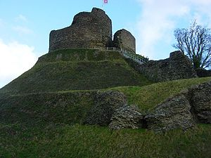 North Cornwall - The motte at Launceston Castle