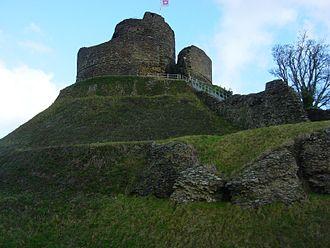 North Cornwall - The motte at Launceston Castle