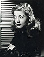 Lauren Bacall 1945 press photo.jpg