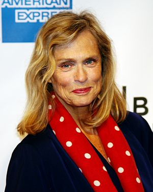 Lauren Hutton - Hutton attending the premiere of The Union at the 2011 Tribeca Film Festival