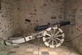 Lauterbach Frischborn Schloss Eisenbach Schloss 1 Kanone s.png