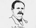 Lawrence A. Yore sketch, Chicago Tribune, 1886.png