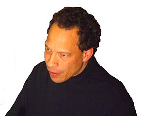 Photo of Canadian author Lawrence Hill from 2008