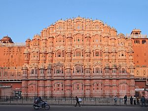 Golden Triangle (India) - Image: Le Hawa Mahal (Jaipur) (8486493475)