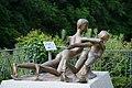 Le Rhône et la Valserine @ Sculpture by Milos Jiranek @ Bellegarde-sur-Valserine (51204487791).jpg