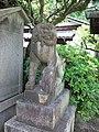 Le Temple Shintô Kan-daijin-jinja - Le komainu.jpg