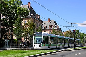 Île-de-France tramway Lines 3a and 3b - Image: Le tramway Flickr besopha
